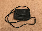 Black soft leather Tula small shoulder bag very good condition