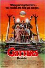 Critters One Sheet Original Movie Poster