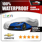 CHEVY CORVETTE CAR COVER Ultimate Full Custom Fit All Weather Protection