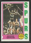 1974-75 TOPPS GEORGE GERVIN (RC) BASKETBALL CARD #196