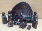 Bronze Light of the World Nativity Irish Made by The Wild Goose Studio Ireland