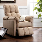 Power Lift Recliner Chair Seat Thickly padded Seat Comfortably Soft For Elderly