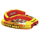 Airhead AHLW 2 Live Wire 2 Rider Towable Inflatable Riding Boat Tow Water Tube