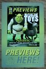 Previews 2001 Shrek Figure McFarlane Out There Humberto Ramos DC PROMO Poster FN