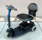 Portable Prde Go Go 3 Wheel Electric Mobility Scooter 250 lbs with New Batteries