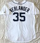 Justin Verlander Detroit Tigers Majestic Authentic Jersey Home White Size 52 XXL