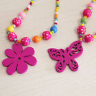Fashion Candy Color Necklacs Children Vintage Joker Girl Bead Necklace Cute Gift