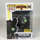 TOOTHLESS (Metallic) Hot Topic Exclusive How To Train Your Dragon 2 Funko Pop