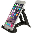 Black Heavy Duty Plastic Hard Cell Phone Tablet Stand Mount Holder Universal