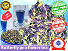 THAI BLUE BUTTERFLY PEA TEA Benefits Remedy Natural Healthy Loose Dried Flowers