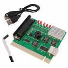 USB 2 Digits PC PCI Analysis Diagnostic Motherboard Tester Post Card + USB Cable