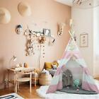 70 Pieces Hand Crafted Wooden Train Set Crossing Railway Track Kids Toy Play Set
