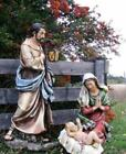 Best Nativity Set 39 in Scale Holy Family Color Outdoor Yard Decor Garden Statue