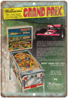 Williams Grand Prix Vintage Pinball Machine 10