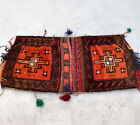 Handmade Bike Saddle Bag Saddlebag Woolen Khorjin Bicycle Vintage Afghan Tribal