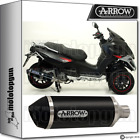 ARROW EXHAUST URBAN BLACK GILERA FUOCO 500 07-13