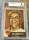 1953 Topps #27 Roy Campanella (DECD HOF) Dodgers - BVG 5 EX Nicely Centered