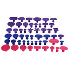 10-52pcs Paintless Dent Repair Puller Tabs Super Pdr Dent Puller Red Hail Tool