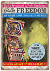 Bally Freedom Vintage Pinball Machine Ad 10