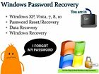 Windows Password Reset Data and System Recovery Tool Bootable Boot USB Flash Thu