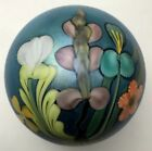 Orient And Flume Floral Paperweight  1982