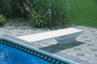 SR Smith Flyte Deck II Stand And 8 Fiber Swimming Pool Diving Board Combination