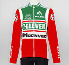 7 ELEVEN Thermal Fleece Cycling Jersey Bike Clothing Cycle Apparel Jackets S 7XL
