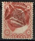 SCOTT 26 WITH RED UNKNOWN GEOMETRIC FANCY CANCEL SON VERY NICE CK6