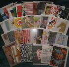 Lot of 45 Greeting Note Cards Blank Inside Nice Assortment All Different
