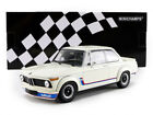 Minichamps 1973 BMW 2002 Turbo White in 1 18 Scale New Release