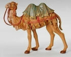 75 Inch Scale Fontanini Standing Camel Figurine 52744