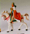 75 Inch Scale Fontanini King Melchior on Horse 56814