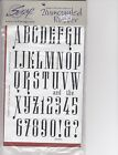 Musical interlude font Club Scrap Unmounted Rubber Stamp Sheet 8 1 2 x 6