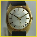 MINT VINTAGE ZENITH 18K SOLID YELLOW GOLD AUTO HI BEAT 28800 MENS WATCH
