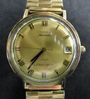 Vintage!! LONGINES Automatic ULTRA-CHROM Watch • 10K Gold Filled • RUNS GREAT!