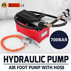 B-70BQ OEM Rolling Jack Pump Air Over Hydraulic Foot Pump Hose Coupler Actuated