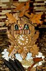 Beautiful Musical One Day German Black Forest Cuckoo Clock! Edelweiss!