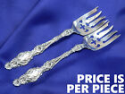 *1* WHITING LILY STERLING SILVER CAKE FORK - EXCELLENT CONDITION