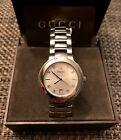 SUPER SHARP! FREE SHIP! MEN'S GUCCI 8900M WATCH WITH WHITE FACE!