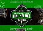 2015 LEAF AUTOGRAPHED MINI HELMET FOOTBALL BOX
