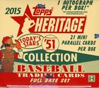 2015 TOPPS HERITAGE '51 COLLECTION BASEBALL HOBBY 24 BOX CASE
