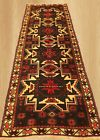 Authentic Hand Knotted Vintage Turkish Wool Runner Rug 8 x 3 Ft (3704)