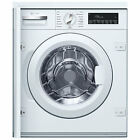 Neff W544BX0GB Integrated Washing Machine, 8kg Load, A+++ Energy Rating, 1355rpm