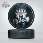 KHL 10th season PLAYOFF souvenir puck. 2017-2018. Officially licensed Ice hockey