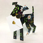 3D Special Delivery Greeting Card Dog Fuschia SD 141