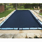 20x40 Rectangle Economy Inground Pool Winter Cover No Tubes 8 Yr Warranty