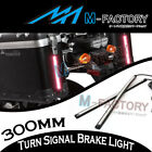 For Piaggio MP3 250 400 500 30cm Integrated LED Turn Signal Rear Brake Light