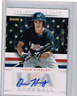 2013 PANINI USA BOX SET ADAM HASELEY PHILLIES #1 DP AUTO ROOKIE CARD#7 499