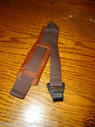 DELUXE LEATHER UKE UKULELE SOUND HOLE NECK STRAP MANDOLIN PARLOR GUITAR THONG