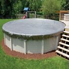 18 ft Premium Round Above Ground Pool Winter Cover 16 Year Warranty